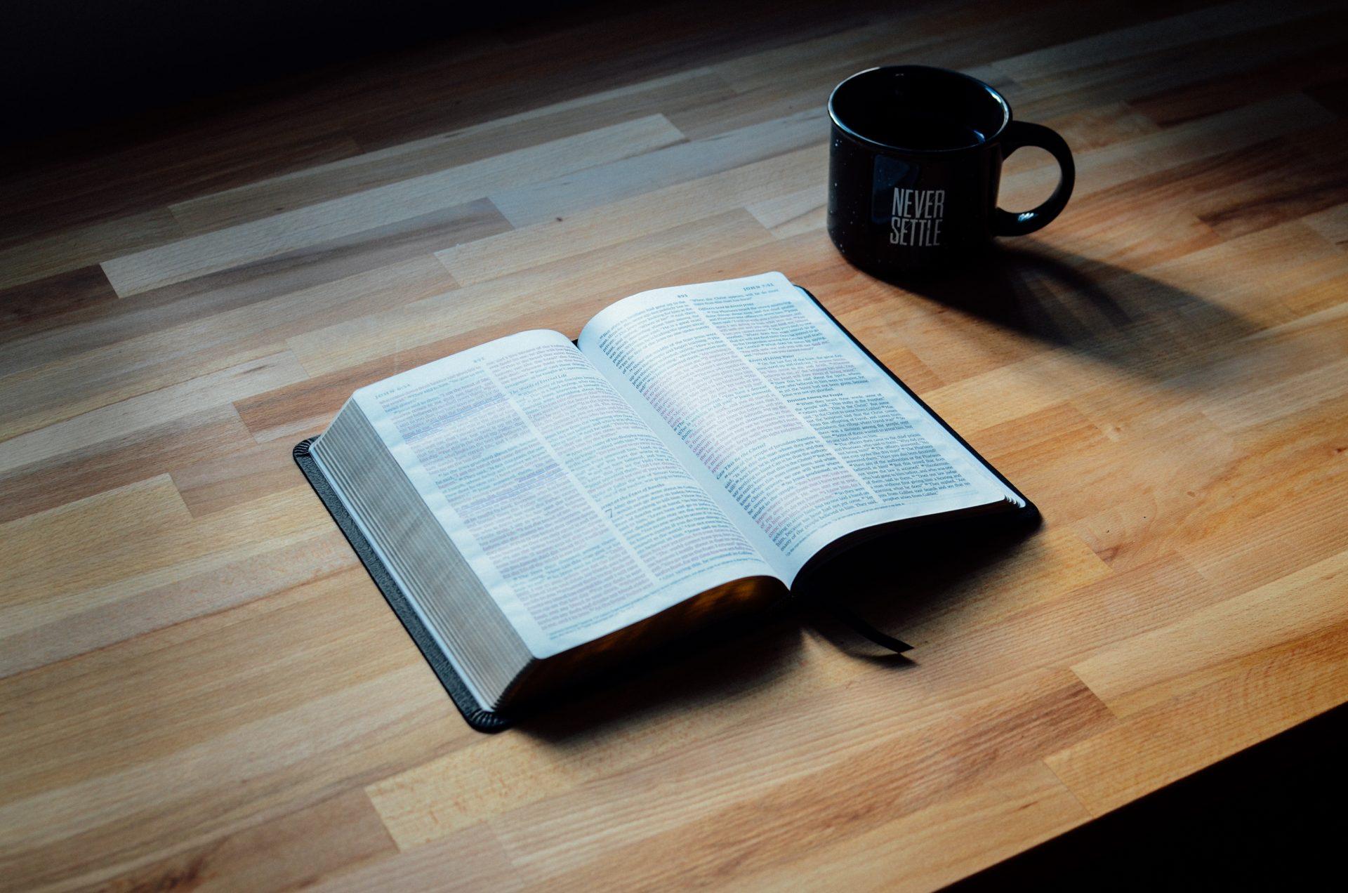 8 Razones Para Amar La Sana Doctrina - Una foto de la Biblia
